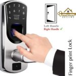 door with keypad lock